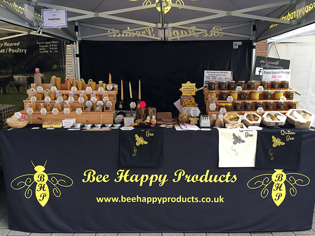Bee Happy at the Markets