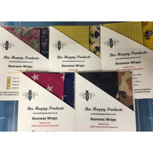 Beeswax Wraps - Pack of 2 (Large)