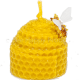 Moulded Rolled Skep Candle